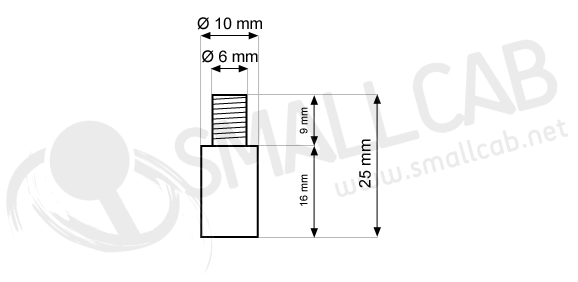 Diagram shaft extender Seimitsu