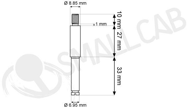 Short and hollow Shaft Diagramma Sanwa JL-S9F
