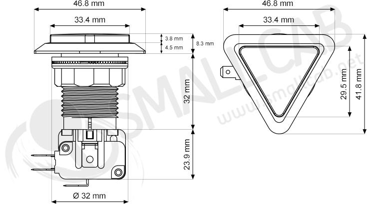 seimitsu ps-14-s-09 - rouge  smallcab