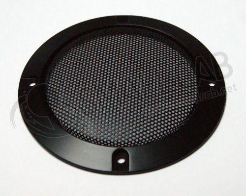 grille de haut parleur noire 120mm smallcab. Black Bedroom Furniture Sets. Home Design Ideas
