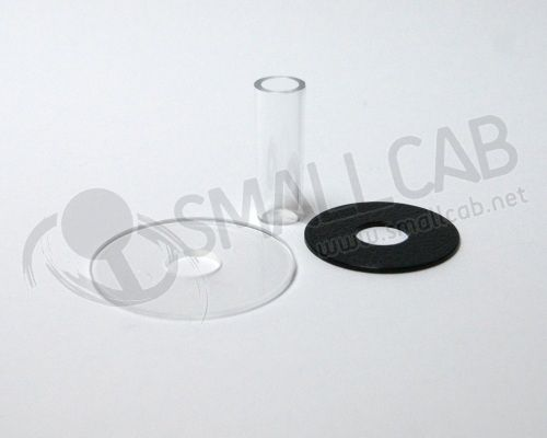 Sanwa JLF-CD Shaft Cover blanc transparente