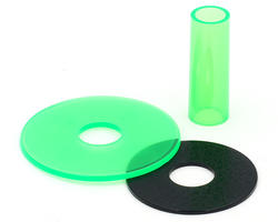 Sanwa JLF CD Clear green Shaft Cover
