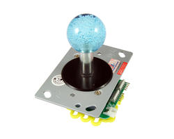 Illuminated joystick - Blue