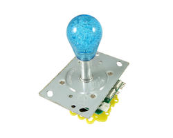Illuminated bat top joystick - Blue
