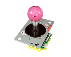Illuminated joystick - pink-Red