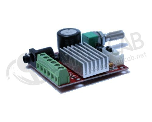 Mini amplificateur audio stereo 2.1