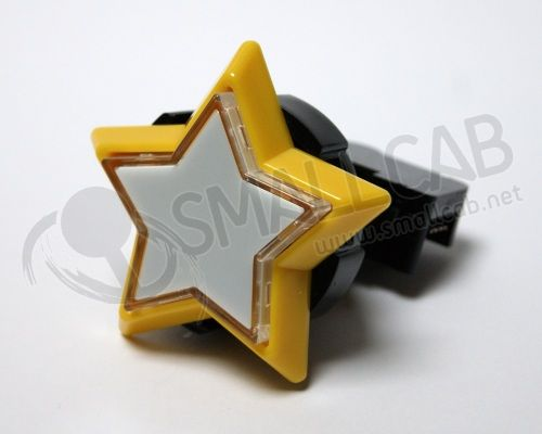 White Star Button - Sanwa OBSA Y 60TH0-W
