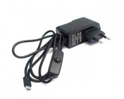5V 3A power supply - Micro USB with switch