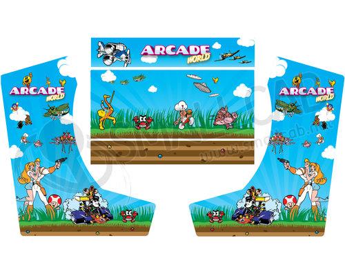 deco bartop xl arcade world smallcab votre arcade shop. Black Bedroom Furniture Sets. Home Design Ideas