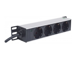 Rack power strip 4 outlets