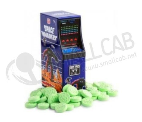 Bonbons Space Invaders borne d'arcade