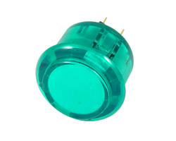 30mm transparent button - Green