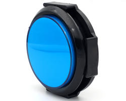 "Flat blue button ""light"" 28/86mm screw"