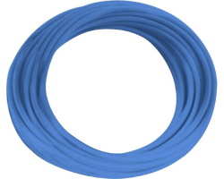 Blue cable - 0.5mm by 1m
