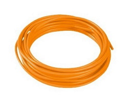 Orange cable - 1mm by 1m