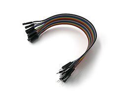 Dupont cables male - female 20cm