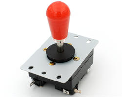 Joystick Crown CWL-309MJ-JMS-ST25 - Rouge