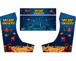 Deco Bartop XL - Arcade Invaders