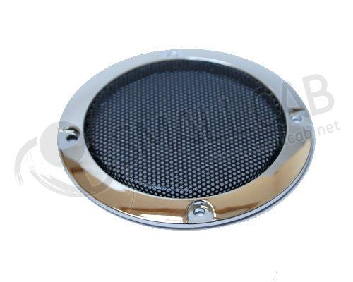grille de haut parleur chrome 95mm smallcab. Black Bedroom Furniture Sets. Home Design Ideas