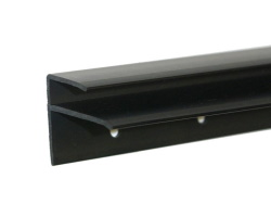 Playfield Glass Rear Plastic Channel - Standard