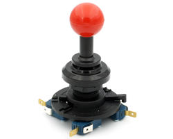 Screw Joystick - Red balltop