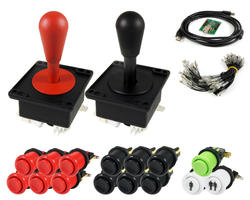 Kit Joysticks poire / boutons et interface USB