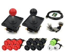 Kit Joysticks / boutons et interface USB