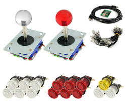 Kit Joysticks Zippy / translucent boutons and USB interface