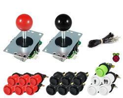 Kit Raspberry Sanwa joysticks / buttons