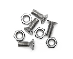 M3x8mm Screw and Nut (x4)