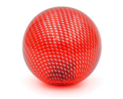 KORI mesh balltop transparent red