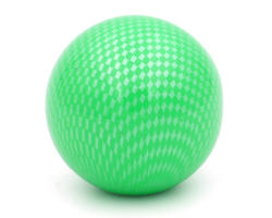 Meshball green ball top