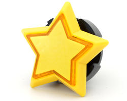 Yellow Star Button - Sanwa OBSA Y 60THO-Y