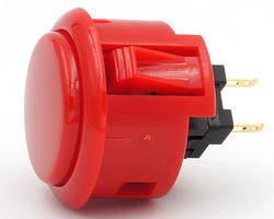 Sanwa OBSFS 30mm - Rouge