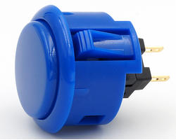 Sanwa OBSFS 30mm - Royal blue