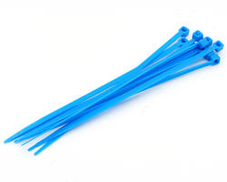 Tie cables 3mm (x10) - Blue