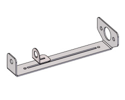 Metal support for Bally / Williams ball shooter