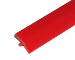 T-Molding 16mm Bright red