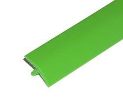 "T-Molding 19mm (3/4"") Bright green (Galaxian)"