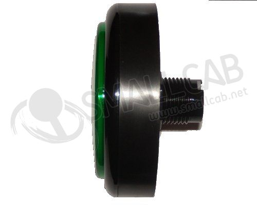 "Flat green button ""light"" 28/86mm screw"
