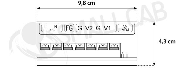 5V3A-12V3A Terminal power supply