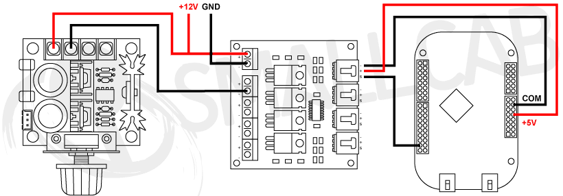 Diagram Shaker Motor Kit