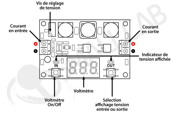 3.5V - 30V voltage booster Diagram