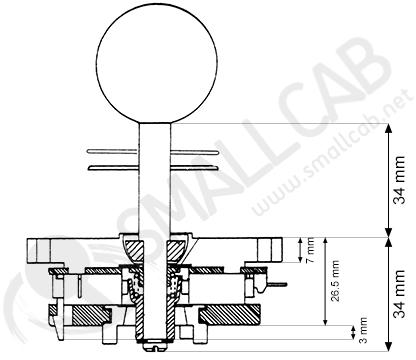 diagram  diagram joystick sanwa