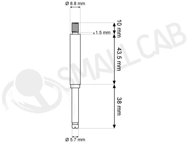 Diagram Seimitsu LS 5x/6x - Long and hollow shaft