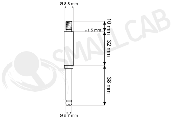 Diagram Seimitsu LS 5x/6x - Stock and hollow shaft