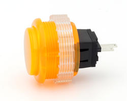Seimitsu PS-14-DN-K Bouton Transparent - Orange