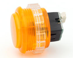 Seimitsu PSL-30N-5W2 Bouton lumineux Transparent - Orange