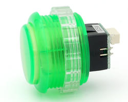 Seimitsu PSL-30N-5W2 bright button Transparent - Green