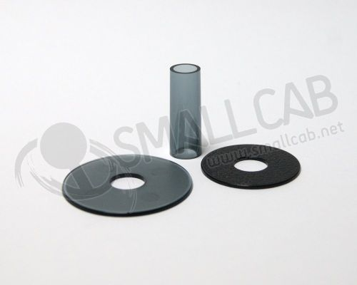 Sanwa JLF-CD Shaft Cover noire transparente
